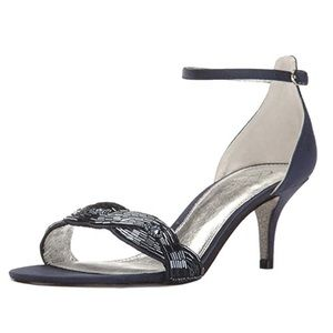 Adrianna Papell Aerin Beaded Strap Sandals 9 1/2